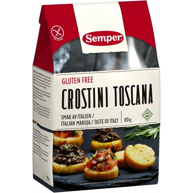 "Crostini ""Toscana"" 80 g - 60% alennus"