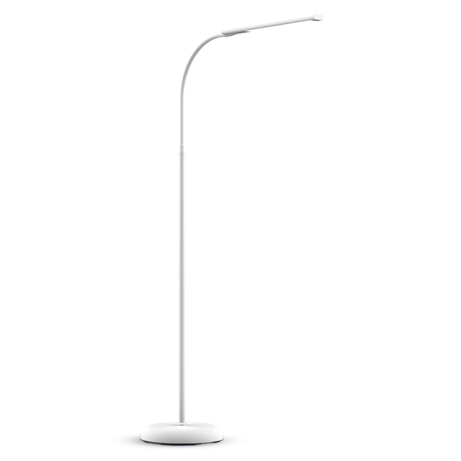 MAULpirro LED-gulvlampe dimbar, hvit
