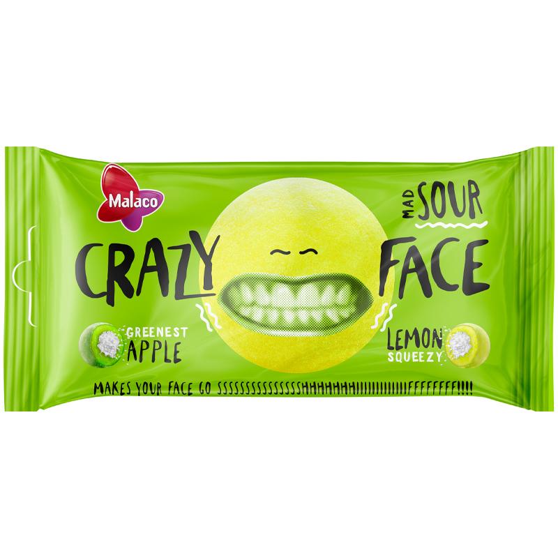Crazy Face Kirpeä Omena & Sitruuna - 37% alennus
