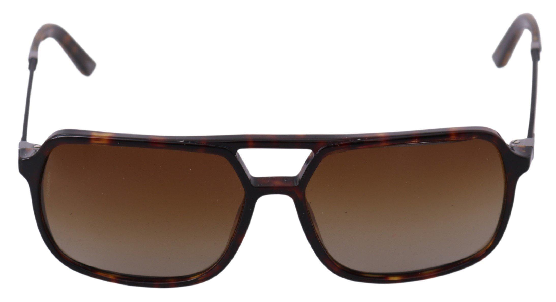 Dolce & Gabbana Women's Leopard Basalto Aviator Sunglasses Brown GLA760