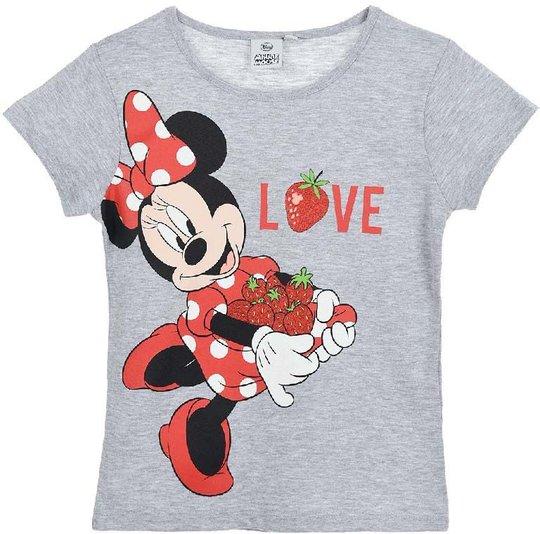 Disney Mimmi Pigg T-Shirt, Light Grey, 6 År