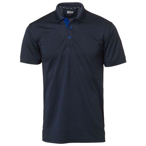 South West Somerton Poloskjorte marineblå S