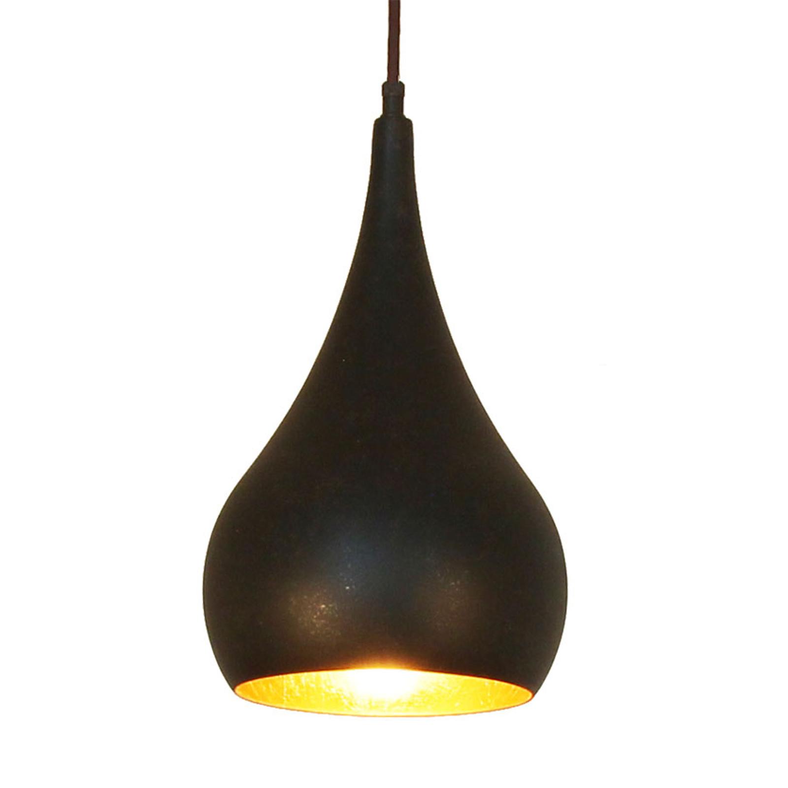 Menzel Solo -riippuvalo, sipuli, ruskea-musta 16cm