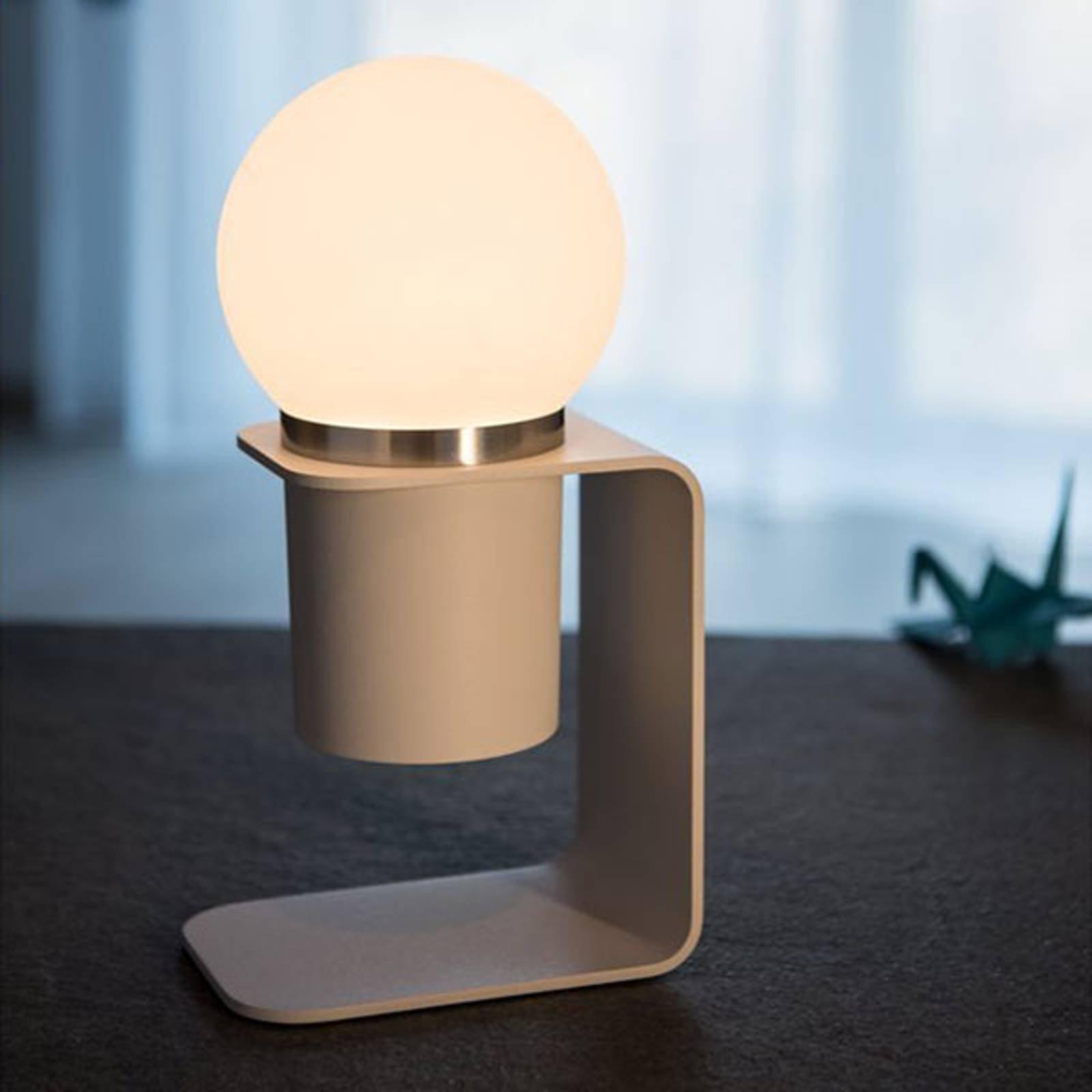 SLV Tonila LED-bordlampe hvit/aluminium