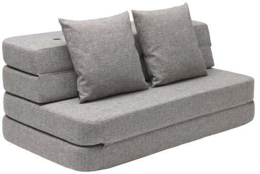 by KlipKlap 3-in-1 Sohva XL, Multi Grey