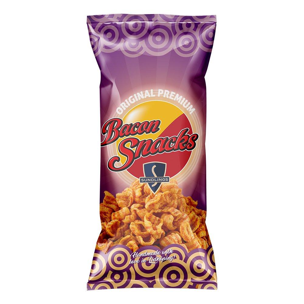 Sundlings Bacon Snacks - 140 g