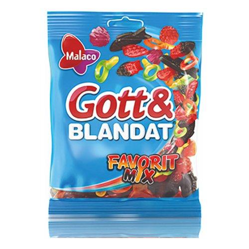 Malaco Gott & Blandat Favorit Mix - 140 gram