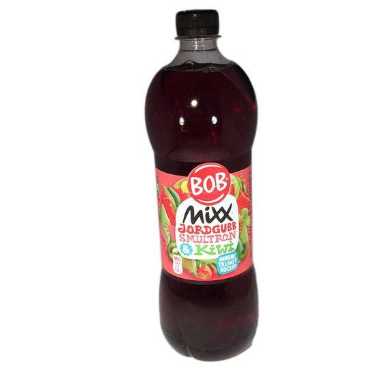 Saft BOB Mixx Jordgubb, smultron och kiwi - 71% rabatt