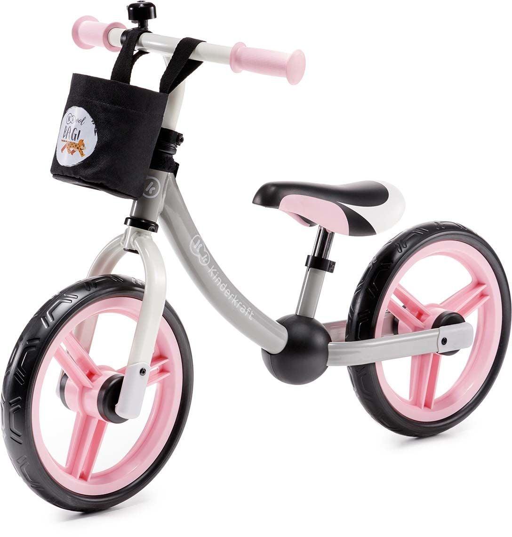 Kinderkraft Springcykel 2 Way Next, Rosa