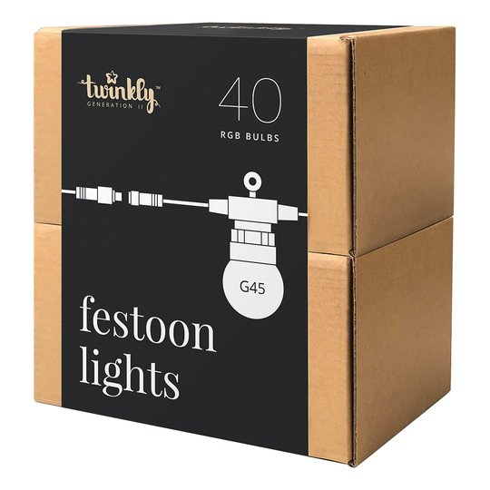 Twinkly Festoon Appstyrd Ljusslinga - 40 lampor