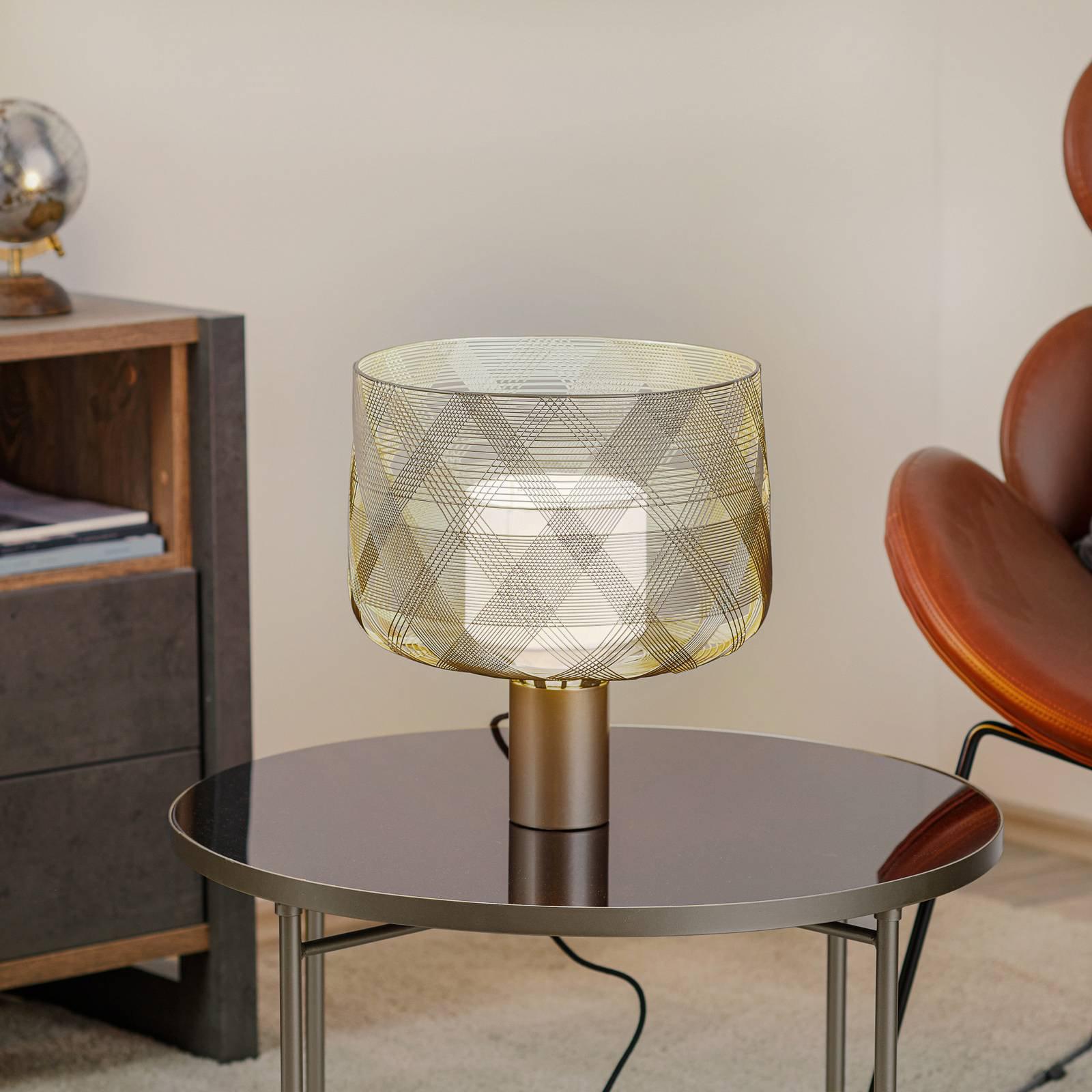Forestier Antenna M bordlampe, 29cm, metallisk grå