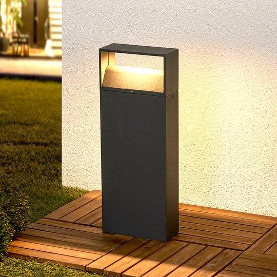 Kjella LED-pollarivalaisin, tummanharmaa