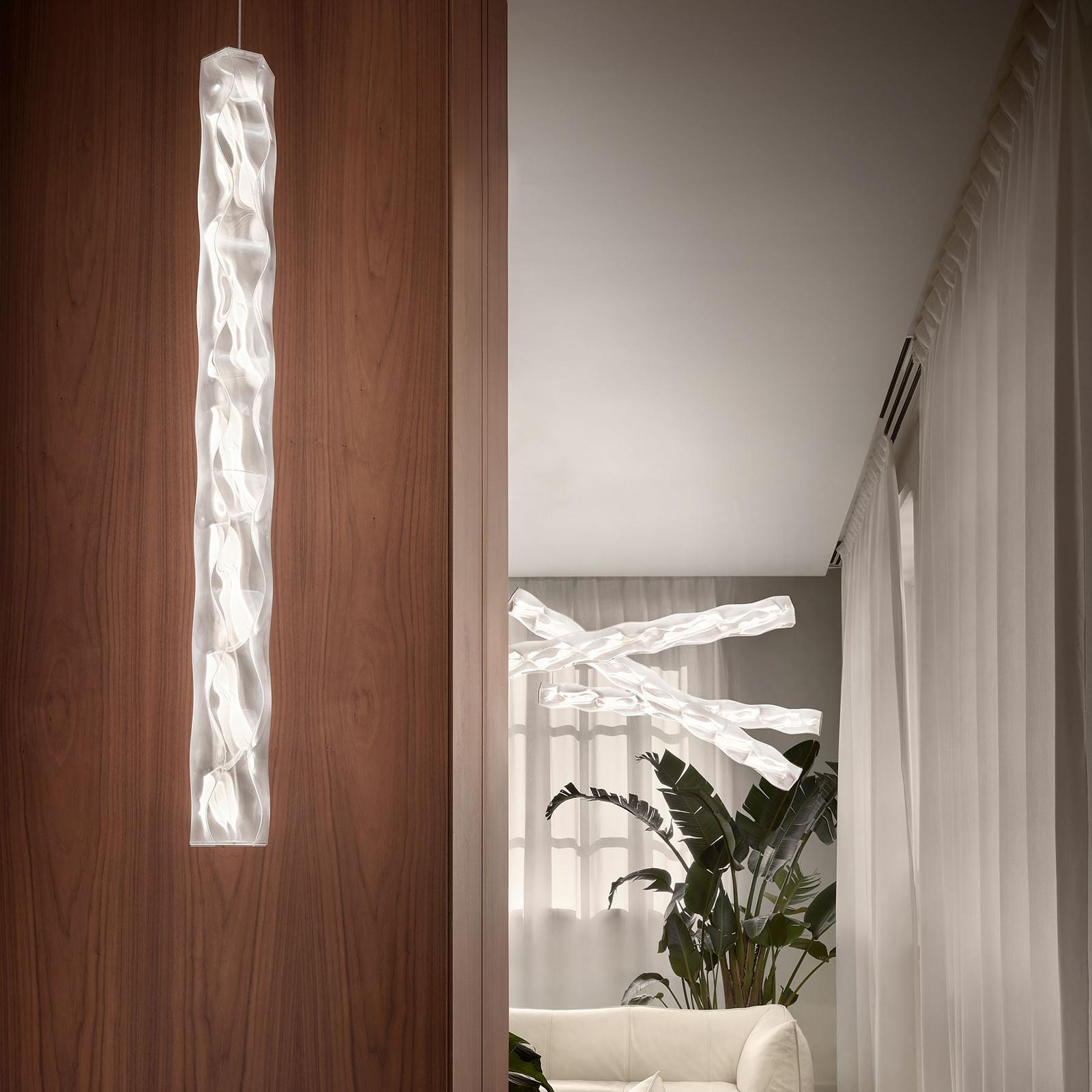 Slamp Hugo Vertical LED-riippuvalaisin prisma