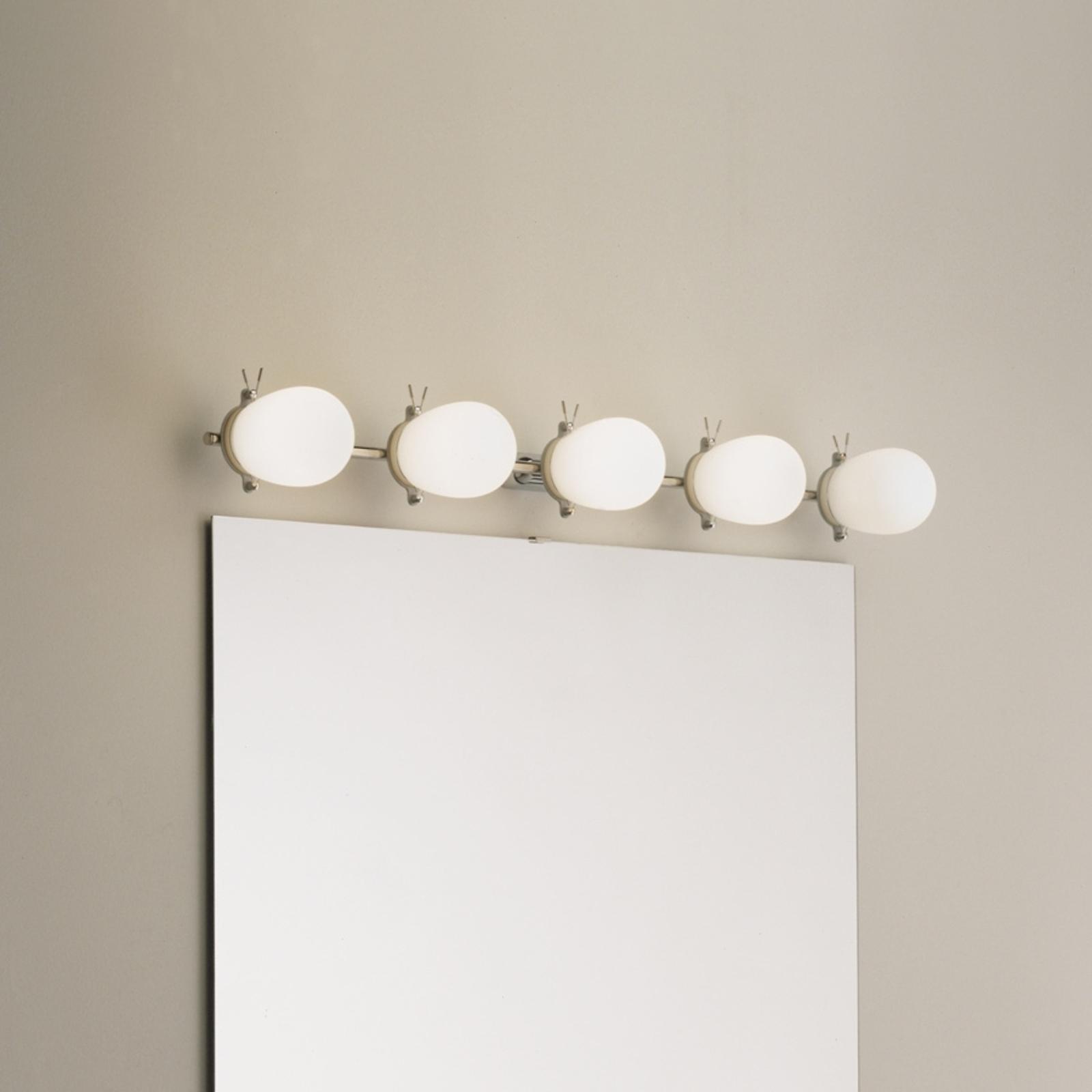 Kaunis kylpyhuoneen seinävalaisin Bano, 5 lamppua