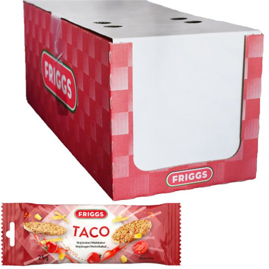 Snackpack Taco 26 pack - 33% rabatt