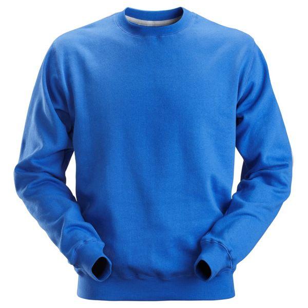 Snickers 2810 Sweatshirt klarblå XS