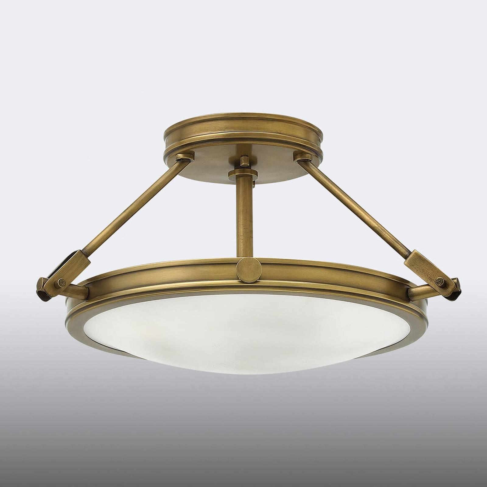 Taklampe med avstandsstykke Collier 41,7cm