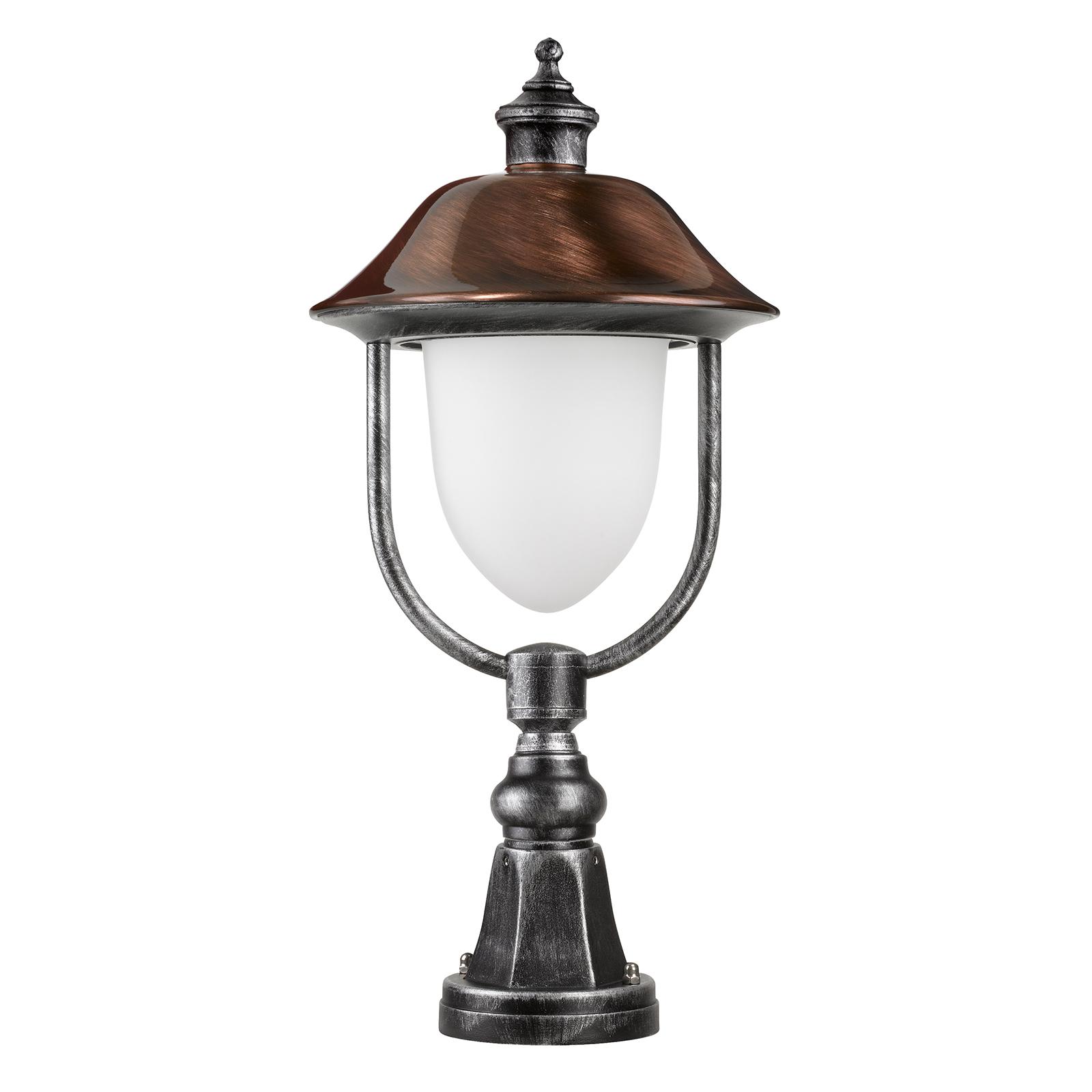 Pollarilamppu 1157, musta/kupari