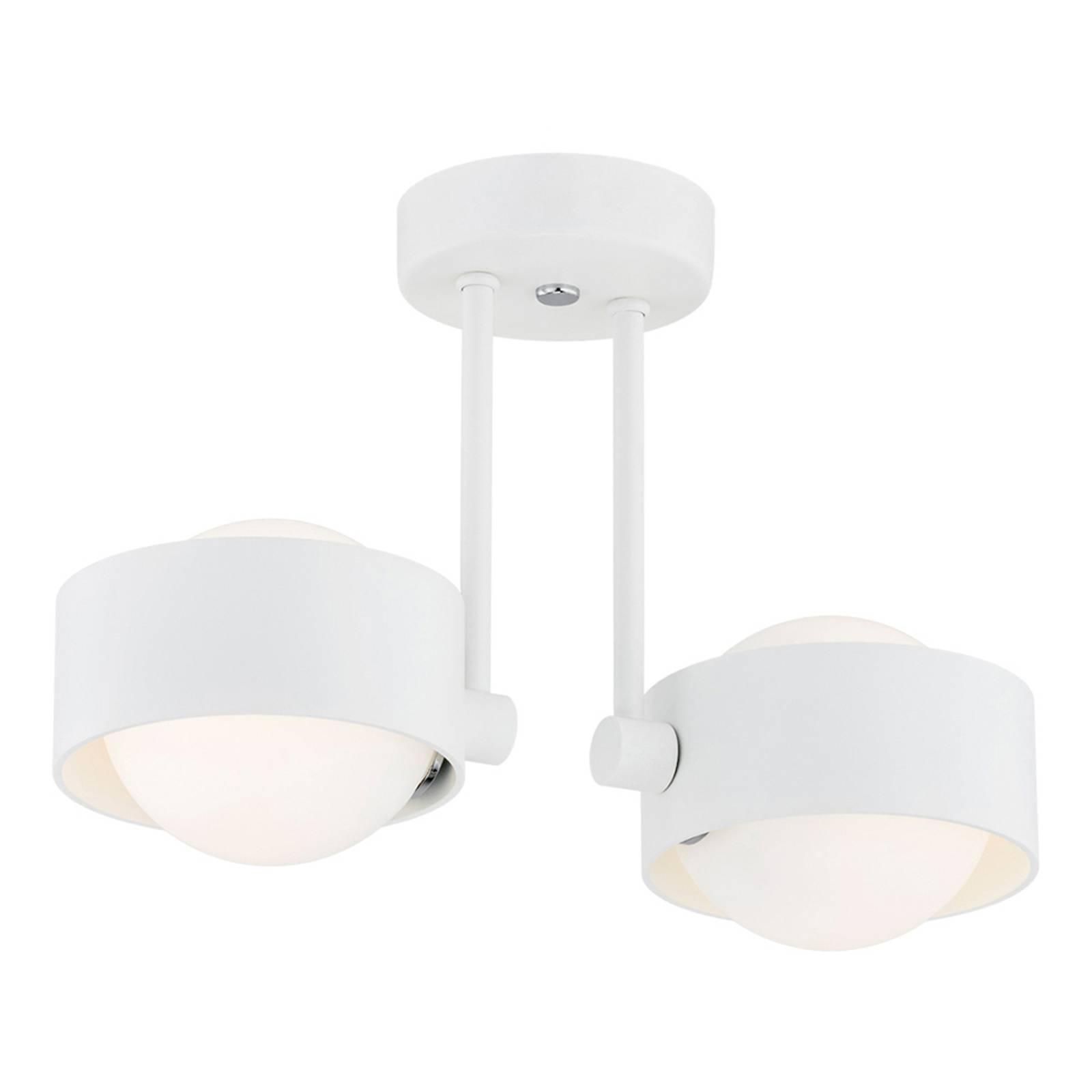 Kylpyhuoneen LED-kattolamppu Macedo, 2-lamppuinen