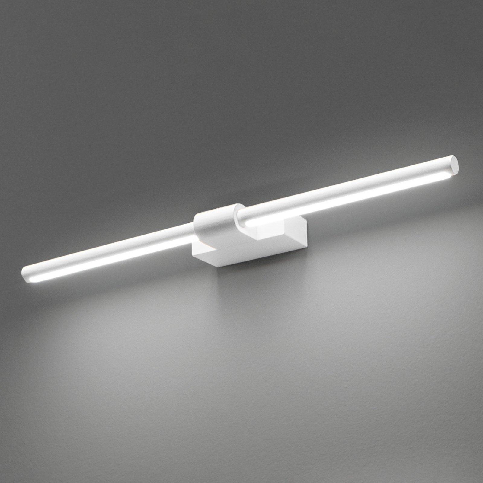 LED-vegglampe Line med dreibar spreder