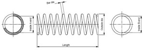 Jousi (auton jousitus), Etuakseli, NISSAN X-TRAIL, 5401050Y04