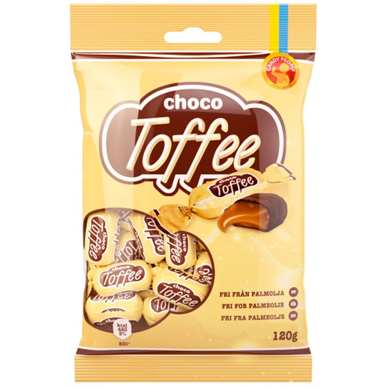 "Godis ""Choco Toffee"" 120g - 61% rabatt"
