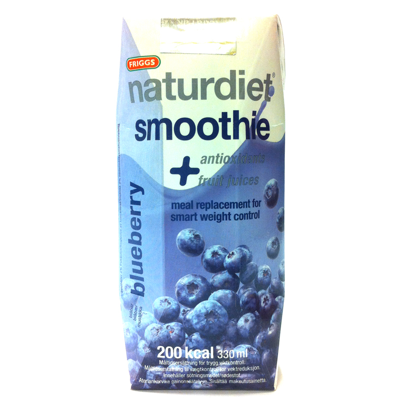 Naturdiet smoothie blåbär - 58% rabatt