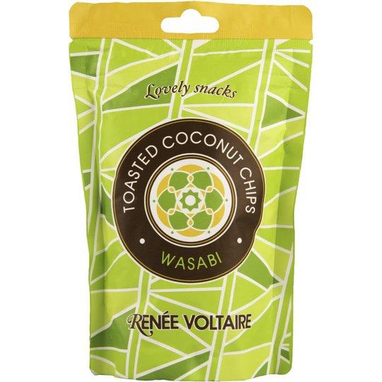 Kookossipsit Wasabi 40g - 40% alennus