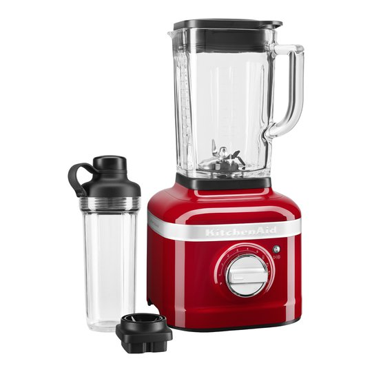 KitchenAid - Artisan K400 Blender 1,4 L + To-Go Bägare Röd Metallic