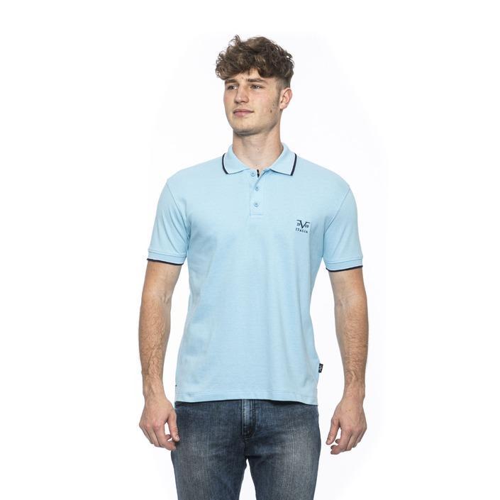19v69 Italia Men's Polo Shirt Blue 185391 - blue M
