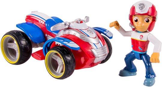 Paw Patrol Figur Med Kjøretøy Ryder