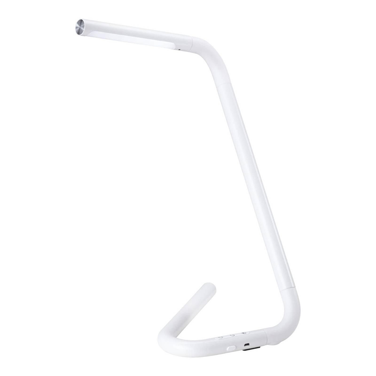 Paulmann FlexLink LED-bordlampe med batteri, hvit