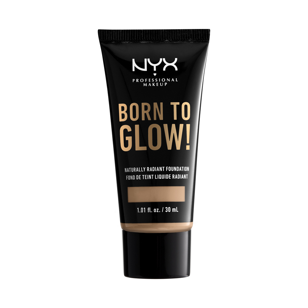 NYX Professional Makeup - Born To Glow Naturally Radiant Foundation - Medium Olive