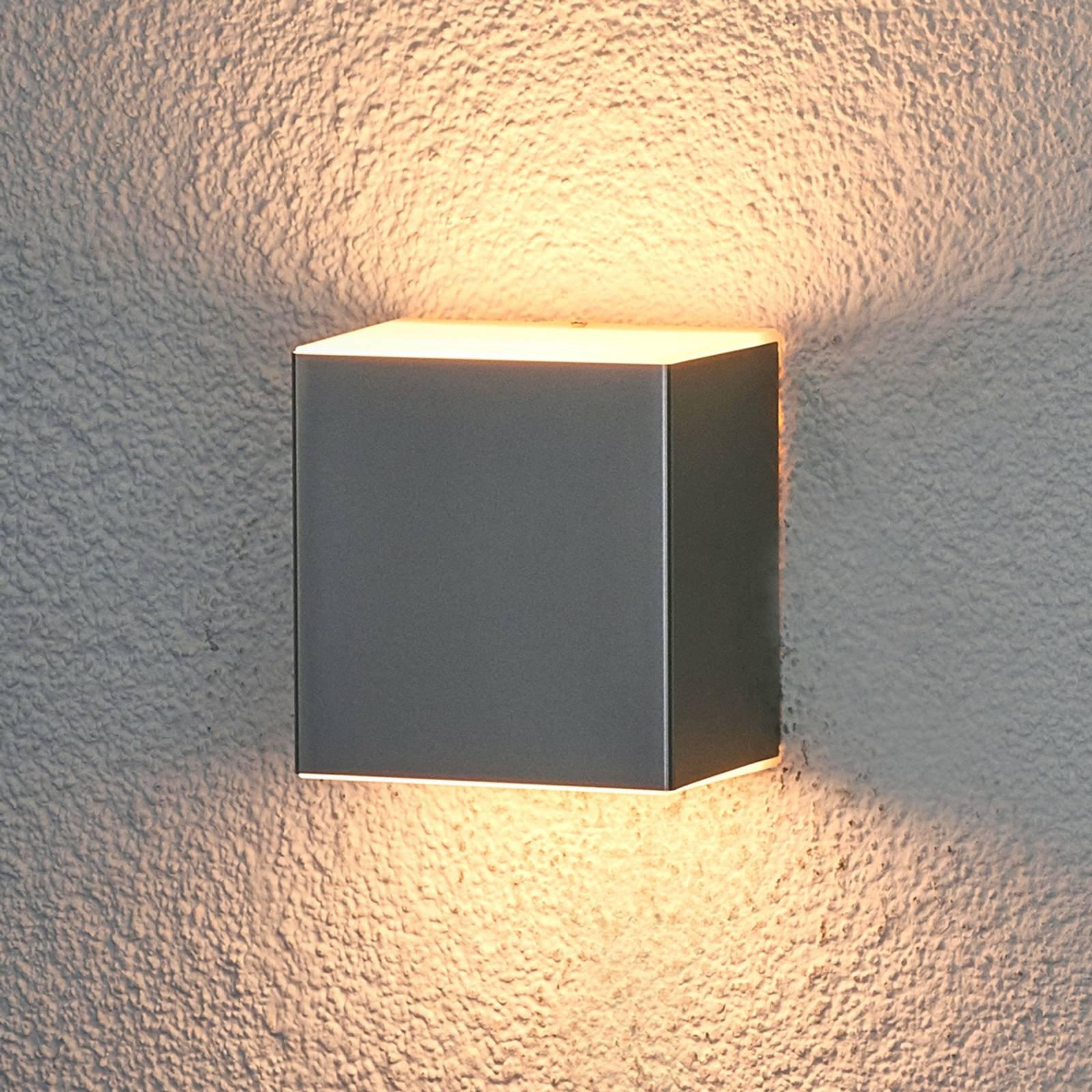 Philips Macaw LED-utevegglampe rustfritt stål