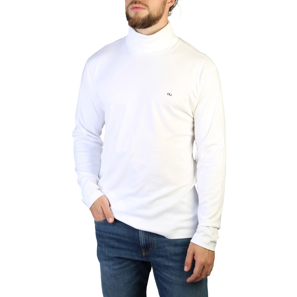 Calvin Klein Men's T-Shirts White 349330 - white L
