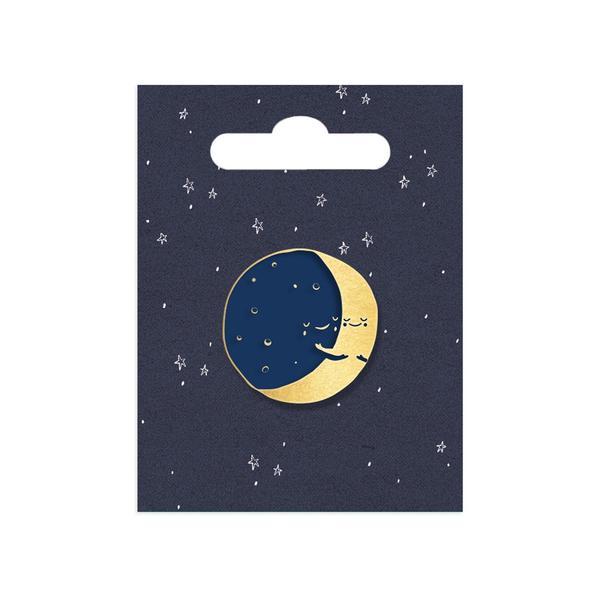 Moon Pin Enamel Pin