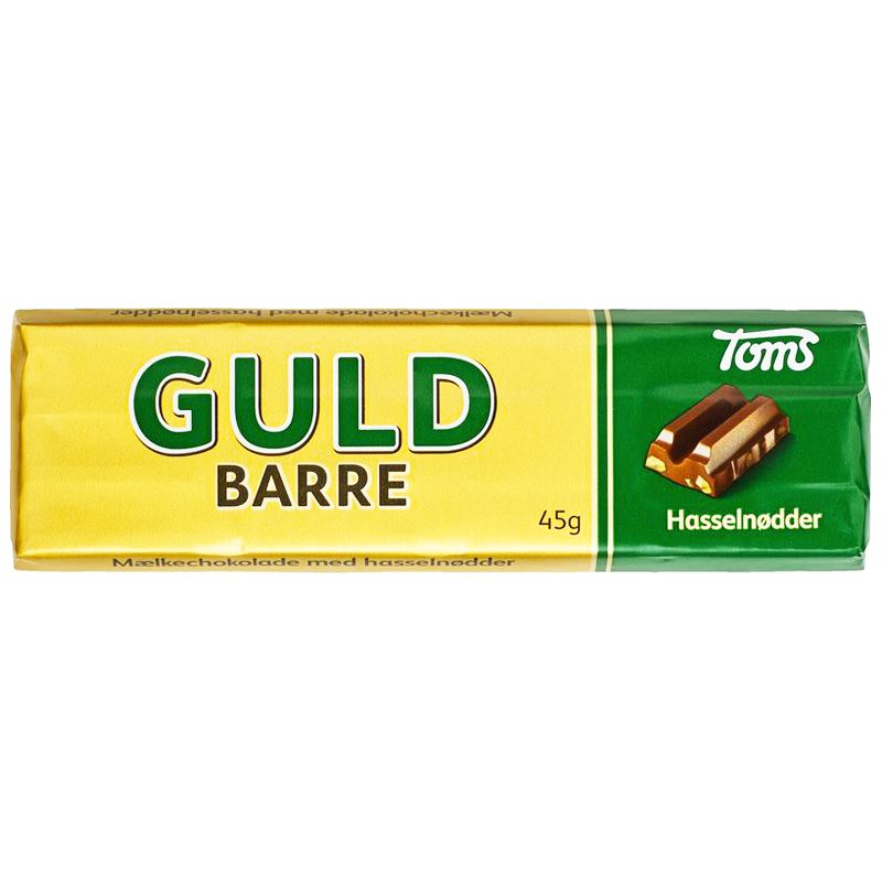 "Godis ""Guld Barre"" 45g - 44% rabatt"