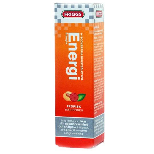 Brustabletter Energi 16st - 33% rabatt