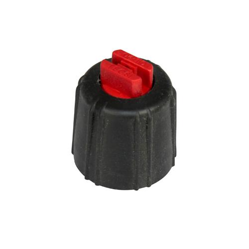 Flatstrålemunstycke maxiflöde röd 1 62 l/min vid 3 bar