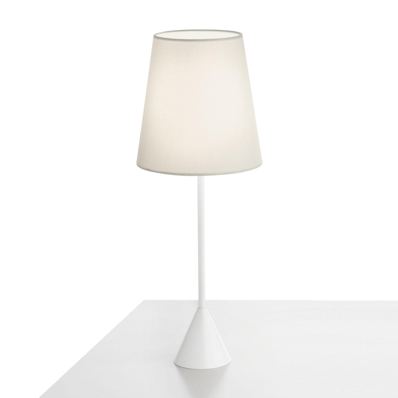 Modo Luce Lucilla pöytälamppu Ø 17 cm norsunluu