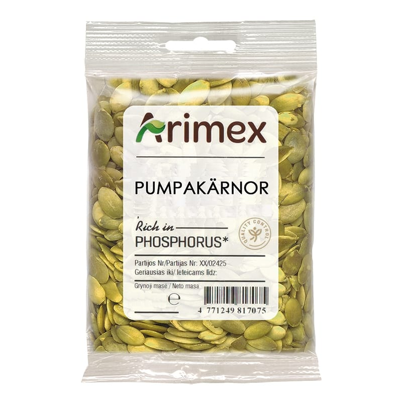 Arimex Pumpakärnor 90 gram