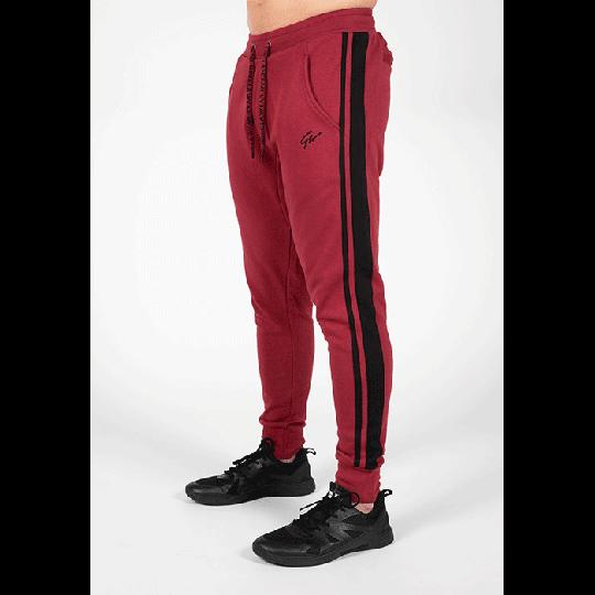 Banks Pants, Burgund Red/Black
