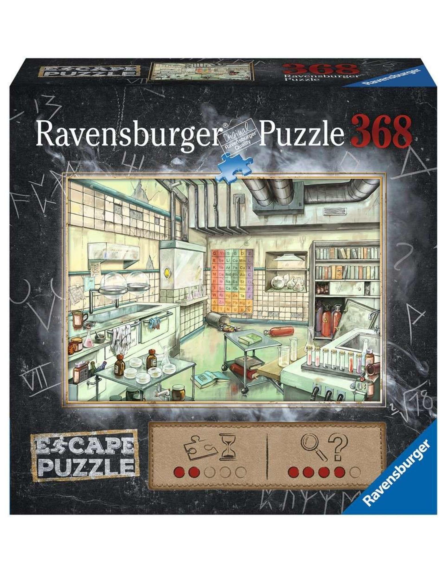 Ravensburger Pussel Escape Laboratorium, 368 Bitar