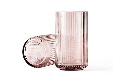 Lyngby Vas Burgundy Munblåst Glas H31 cm