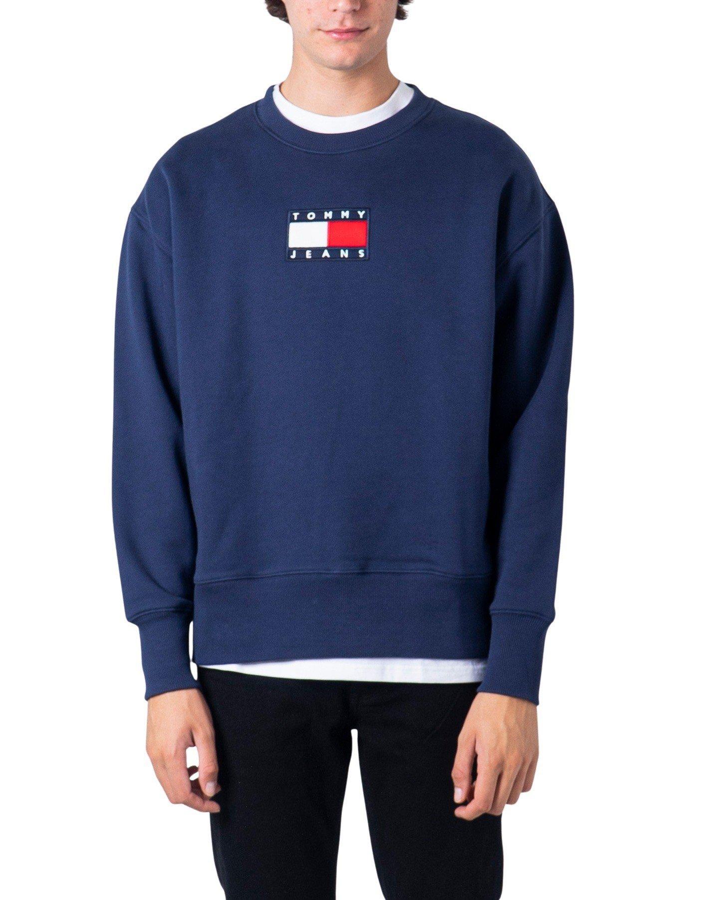 Tommy Hilfiger Men's Sweatshirt Blue Various Colours 177224 - blue XS