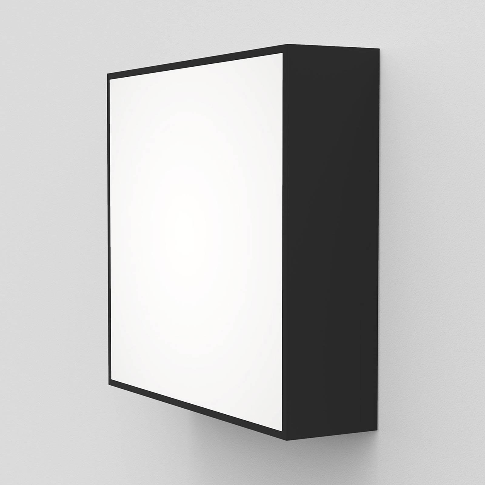 Astro Kea Square 240 -LED-seinävalaisin, musta