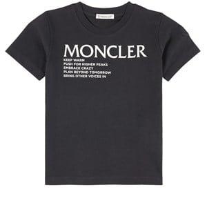 Moncler Branded T-shirt Svart 6 år