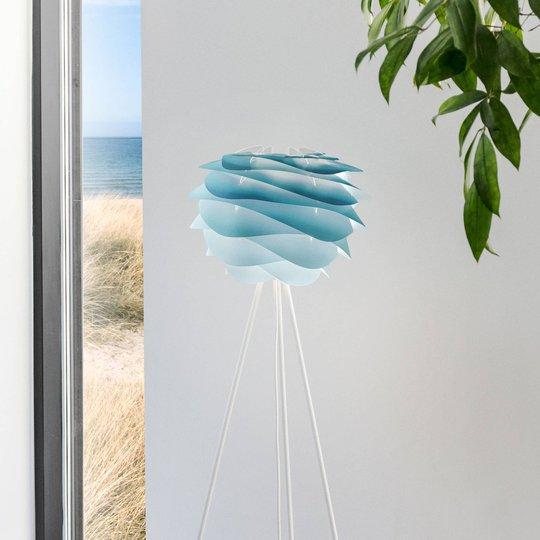 UMAGE Carmina Mini gulvlampe blå/tripod hvit