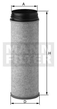 Toisioilmasuodatin MANN-FILTER CF 1430