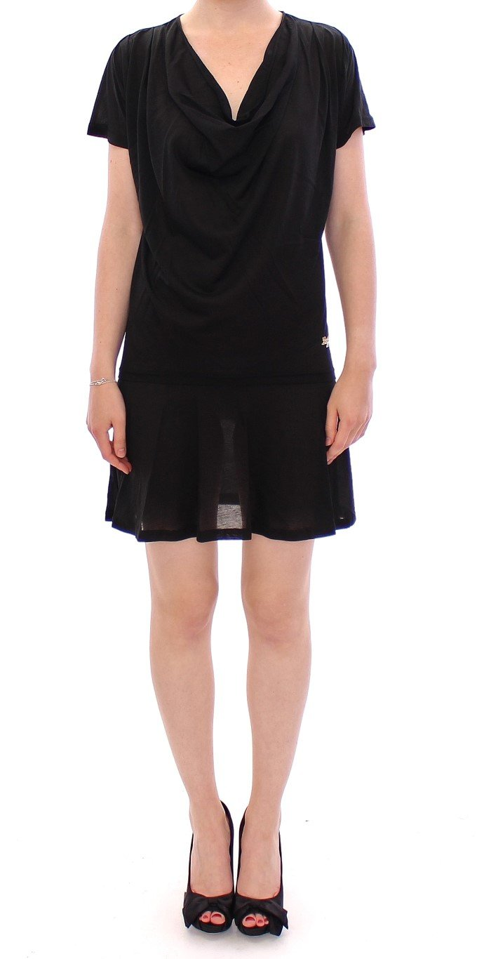 Dolce & Gabbana Women's Semi transparent Dress Black MOM11209 - IT36 XXS